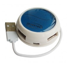 4х портовый USB хаб, АНВ-120 black/white/blue/green