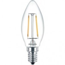 Лампа світлодіодна Philips LED Fila ND E14 2.3-25W2700K 230V B35 1CT APR (свеча)