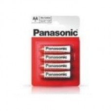Батар. Panasonic RED ZINK R06 BLI 4 ZINK-CARBON