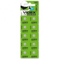 Батар часов Videx AG 3 (LR41) BLISTER CARD 10 pcs