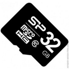 SILICON POWER microSDHC 32GB card Class 10