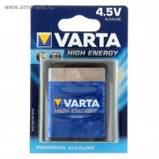 Батар.VARTA HIGH ENERGY 3LR12 (Блистер)